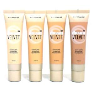 Maybelline Dream Velvet Soft Matte Foundation 30ml - Choose Your Shade
