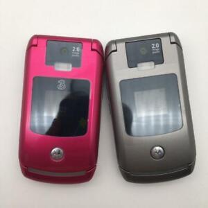 Motorola Razr v3x Original Unlocked Flip Cellphone 3G Camera Bluetooth Phone