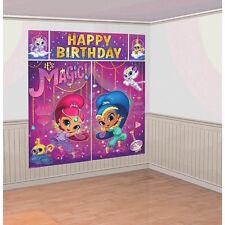 Brillo y brillo Escena Setter Pared Cartel Fiestas de Cumpleaños Decoración Kit
