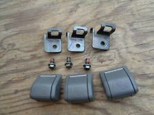 Volvo S60 V70 XC70  Rear Child Seat Safety Anchor kit with Cover  Dark gray  OEM
