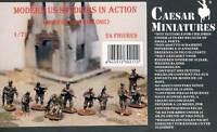 Caesar Miniatures Moderno US Soldados en Acción Ejército Figuras Modelo Equipo