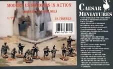 Caesar Miniatures Modern US Soldiers in Action Army Figuren Modell-Bausatz 1:72