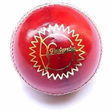 """Cricket Ball Leather Red Test Grade Balls Sports """" Outdoors Team & Fitness"""