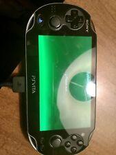 PlayStation Vita used case 8 games included black 8gb WiFi slightly used