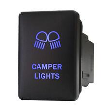 Push switch 9B80B 12V Toyota OEM Replacement CAMPER LIGHTS LED BLUE Tundra