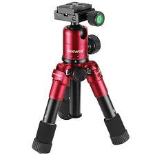 "Neewer 20"" Red Compact Desktop Macro Mini Tripod Holder Stand w/ 360° Ball Head"