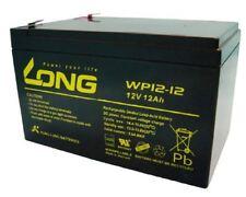 Long AGM Akku 12V 12Ah  USV ,Batterie, Sicherheitstechn, Alarmanlage WP12-12 VDS
