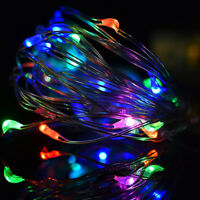 2M 20 LED String Fairy Lights Copper Wire Battery Powered Waterproof