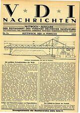 La Demag construit les plus grands Ponts du monde 1923 * historique memorabile