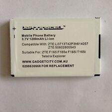 2 X ZTE F165 F165i T165e T165i F165i MOBILE PHONE BATTERY+1 YEAR AUSSIE WARRANTY
