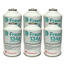 DuPont Chemours Refrigerant Freon 134 134a AC 6 Cans (12oz)