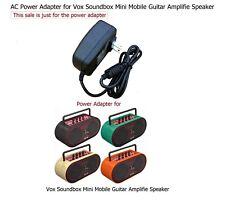 AC Power Adapter for Vox Soundbox Mini Mobile Guitar Amplifie Speaker