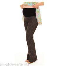 Maternity Pregnancy Cotton Denim Trousers Jeans Bootcut Size 8 10 12 14 16 18 20