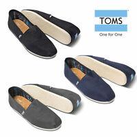 TOMS Mens Classic Alpargata Canvas Pumps Slip On Casual Espadrille Loafers Shoes