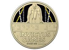 2018 Invictus Games - Sydney $1 Coloured Coin