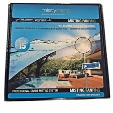 Misting Fan Ring Kit - Misty Mate - Cool off on HOT Days - Great for Outdoors