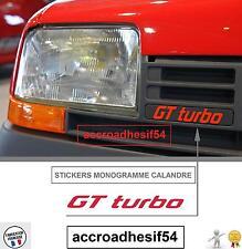 autocollant Renault  5 GT Turbo Monogramme Calandre Badge insigne R5