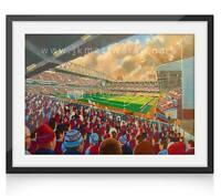 Upton Park Stadium Fine Art A4 Print - West Ham United Football Club