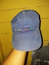 RARE VINTAGE UNITED COLORS OF BENETTON CAP BENETTON CAP ADJUSTABLE