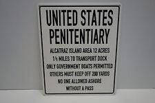 USA Prison sign Porcelain over steel Directions 1/2 Mile
