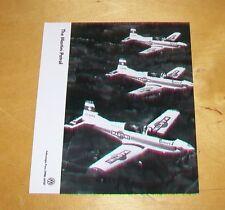 PILATUS PC-7 THE MARTINI PATROL ORIGINAL PRESS PHOTOGRAPH VOLKSWAGEN AEROBATIC