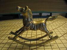 Metal/Brass Rocking Horse