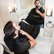 Clean Cut Premium Beard Bib Hair Clippings Catcher & Beard Grooming Cape Apron