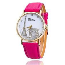 Beauty Woman Gift Pink Watch From UK Paris Fashion Rose Colour for Lady Girls