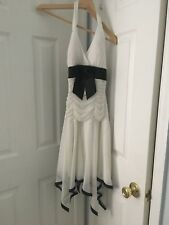 Deb White Prom Dress Size s New with tags