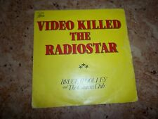 vinyle DE BRUCE WOOLEY, video killed the radiostar