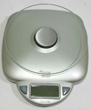 The Biggest Loser by Taylor Glass Digital Food Scale Large Capacity 11lb 1oz NOS