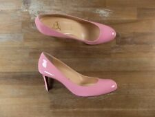 $695 CHRISTIAN LOUBOUTIN Simple Pump pink patent pumps - 10 US / 7 UK / 40 EU