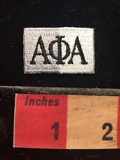 Some Fraternity Or Sorority Patch ALPHI PHI ALPHA AφA 60C9