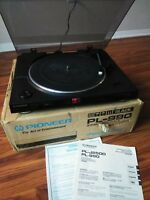 Vintage Pioneer PL-990 Full Automatic Stereo Turntable In Box