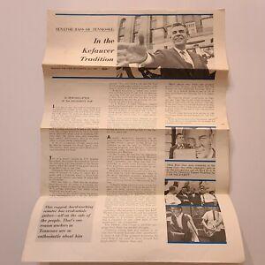 Tennessee Senator Bass UAW Writeup Howard Lipton of the Solidarity Staff c1966