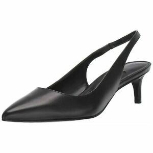 Nine West Women Slingback Heels Feliks Leather