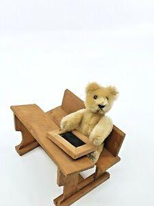 cute rare Schuco Schüco Teddy Bear blond 9 cm mohair vintage