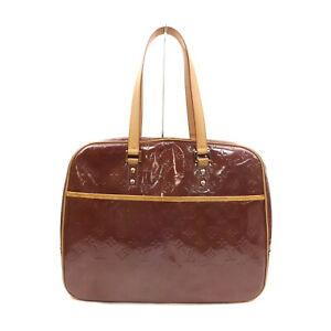 Louis Vuitton LV Tote Bag M91081 Sutton Purple Vernis 1721531