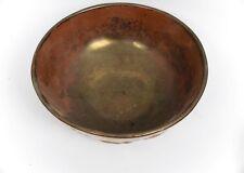 Vintage Beautiful Metallic Bronze Ceramic Bowl made in England - Free Shipping