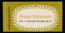 Australia 515a & 517a Mint Nh, Booklet Prime Ministers .