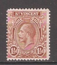 St.Vincent 1932,KGV,1 1/2p,Scott # 120,VF Mint Hinged*