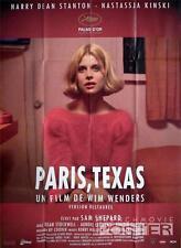 PARIS TEXAS - WIM WENDERS / NASTASSJA KINSKI - REISSUE LARGE FRENCH MOVIE POSTER