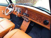 Conception du Tableau de bord - La collection du Noyer- Mini Austin Rover Cooper