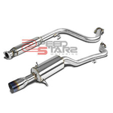 FOR 05-07 COBALT 2.2L STAINLESS CAT BACK EXHAUST PIPING 3.5? MUFFLER BURNT TIP