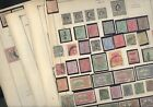 INDIA & STATES, Excellent assortment of Stamps hinged/mounted on remainder Scott