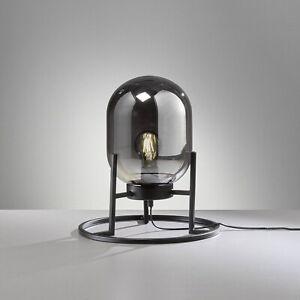 Retrofit Tisch Leuchte Lampe Nachttisch Regi 1flg. E27 Honsel 50130 schwarz