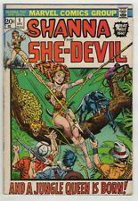 Shanna The She-Devil (1972) #1 1st App Shanna Jim Steranko Cover Gerber Tuska VG