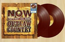 """NOW That's What I Call Music ! Outlaw Country 12"""" 2LP Exclusive Maroon Vinyl"""