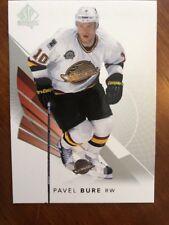 2017-18 UD Hockey SP Authentic Base #96 Pavel Bure