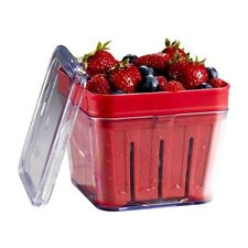 New listing Stackable Berry Basket Colander Fruits Picking Washing Storage Container Set New